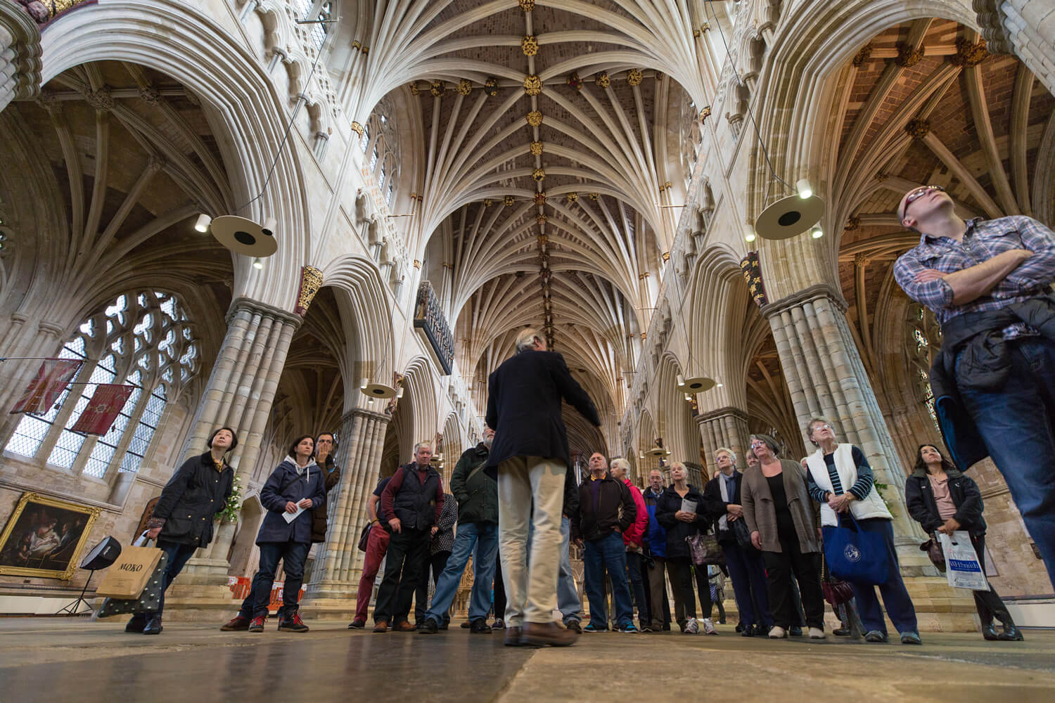 Guided Tours Of Exeter Cathedral Things To Do In Exeter Attractions