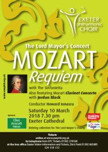 Mozart Requiem and Clarinet Concerto