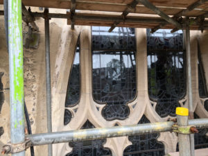 New isothermic glazing on the Great East Window