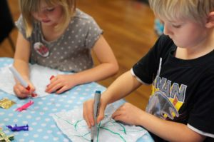 Exeter Cathedral drop in crafts