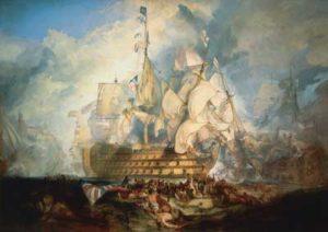 HMS Victory Trafalgar Day