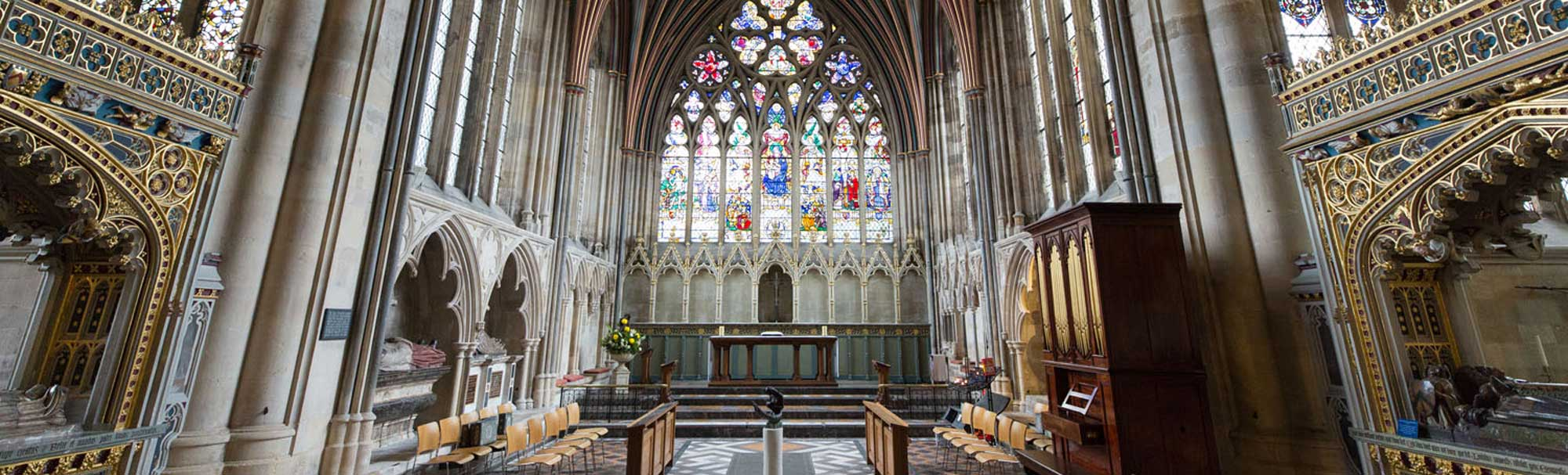 The Lady Chapel, Exeter Cathedral