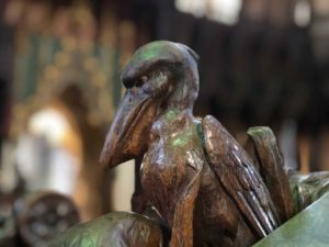 Birds in Cathedral Pelican